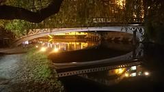Guildford 5 October 2018 018 (paul_appleyard) Tags: guildford town bridge surrey october 2018 reflections reflected night wey navigation river