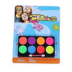 BinaryABC Halloween Makeup Face Paint Kit,8 Colors,Halloween Party Supplies (boysweeps) Tags: halloween costume hot sexy woman female adult 2017 lady girl party dress tights costumes cosplay girls beautiful pretty model babe witch magic harry potter muggle hermoine hogwarts wizard hat