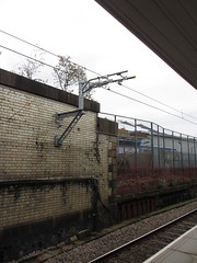 B438m Bolton (61379 Mayflower) Tags: railway railways electrification