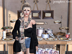 Cookie Bar (JarSephora) Tags: scarlet creative catskills lodge luxebox empire mila truth hair apple maitreya lara mesh boddy swallow catwa bento head catya princess larnia joolly wishes dishes imaginarium gimme gacha productions even af artisan fantasy cookie swap demicron orbit eyes lyrium series amias bira cosmopolitan set jewelty blueberry reignberry cardigann secondlife second life sls tyle fash fahsion female woman women girls winter cold dessert food virtual world worlds