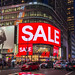SALE at H&M Store, Broadway, Times Square - NYC