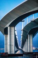 San Francisco Days, San Francisco Nights (Thomas Hawk) Tags: america bayarea baybridge california sf sfbayarea sanfrancisco usa unitedstates unitedstatesofamerica bridge oakland us fav10 fav25 fav50 fav100