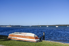 Lake Macquarie View (oz_lightning) Tags: australia manneringpark nsw newcastle sonyrx100iii boats lake landscape nature seascape water newsouthwales aus