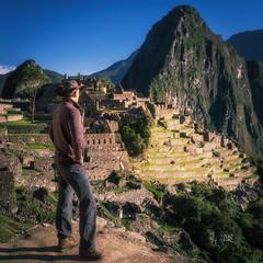 2018 The most beautiful place on earth and me (jeho75) Tags: sony ilce 7m2 zeiss south america südamerika peru machu picchu me ich hiram bingham like entdecker discoverer portrait inka huayna