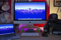 Office 2018 (Bridge Computers) Tags: macbook apple imac office workspace cosy home work