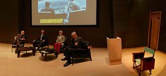 "The Establishing Shot : STANLEY KUBRICK: THE EXHIBITION & THE DESIGN MUSEUM 2019 EXHIBITION PROGRAMME ANNOUNCEMENT - DEYAN SUDJIC ""...HERE WE ARE WITH HIS PRESENCE HOVERING OVER US, HIS DIRECTORS CHAIR OVER THERE""  - DESIGN MUSEUM, LONDON (Craig Grobler) Tags: ckc1ne craiggrobler craigcalder london film uk theestablishingshot wwwtheestablishingshotcom theestshot attheestshot thestanleykubrickexhibition stanleykubrick exhibition filmexhibition designmuseum sony sonyalpha77 alpha77 panel props filmprops filmmaking janharlan alanyentob deyansudjic stuartbrown bfi aliceblack justinmcgurick mars"