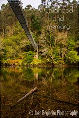 Childhood and memory (Jose Regueiro) Tags: asturias trelles coaña cablehanging bridge river