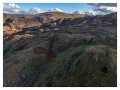 Wild Camp - Can you spot me? (dandraw) Tags: wildcamp wildcamping tent tarptent scarp1 borrowdale thelakes thelakedistrict cumbria autumn autumncolours outdoors adventure landscape mountains drone mavicair mavic dji