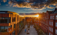 College Ave Sunset 291018 (Mister Oy) Tags: sunset wigan hdr nikond850 nikon2470mmf28evr urban