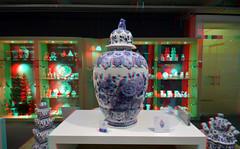 De Porceleyne Fles Delft 3D (wim hoppenbrouwers) Tags: deporceleynefles delft 3d anaglyph stereo redcyan blueware royaldelft delftware