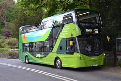 Stagecoach Cumbria & North Lancashire 13803 BV17CTK (Will Swain) Tags: grasmere 26th may 2018 bus buses transport travel uk britain vehicle vehicles county country england english north west cumbria town ambleside williamsdigitalcamerapics101 stagecoach lancashire 13803 bv17ctk