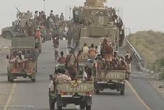 معارك وغارات في الأطراف الجنوبية والشرقية لمدينة الحديدة (nashwannews) Tags: التحالفالعربي الحديدة القواتالمشتركة اليمن صنعاء