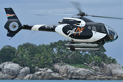 Flight over Seychelles Islands with ZilAir EC120 helicopter (André Bour - Helico Passion) Tags: ec120 h120 helicopter seychelles flight zilair airbushelicopters