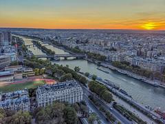 Seine from Eiffel Tower