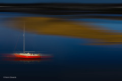 Sailing (norm.edwards) Tags: northwales wales blue harbour love sea tide boats sailing sails red sand