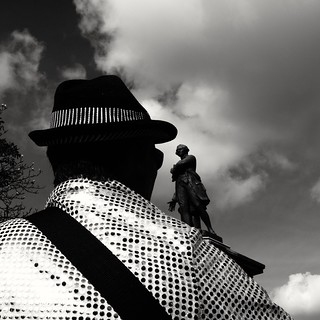 Statue ( serie black texture )
