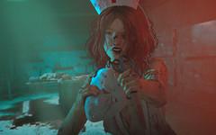 Next !! - Halloween Special (Natsumi Xenga) Tags: catwa hanako session angi ling tram h608 adn izzies blood wound applier madpea scissors halloween youtube cute kawaii japanese japan photoshop livestream edit