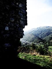 2018 - Ariege_20180917_0226a (Hanzlers Warped Visions) Tags: lavoiedesperestranquilles ariege france climbing rockclimbing rock rocky adventure outdoors outside ipswichmountaineeringclub ipswichmc ipswichimc summitviews top lechâteaudecalamès comtédefoix occitanie