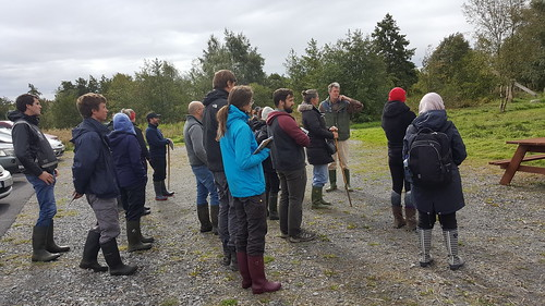 Workshop on use of the Wetlands Guide, Cabragh Wetlands, September 2018