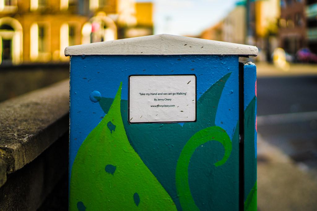 PAINT-A-BOX STREET ART BY JENNY CLEARY [TEMPLE STREET NEAR MOUNTJOY SQUARE DUBLIN]-144910