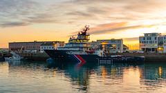 Abeille Bourbon (ludob2011) Tags: tug remorqueur ship bateau brest abeillebourbon ouessant bretagne finistere pennarbed pentax sunset