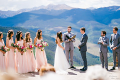 Wedding of the Z and J (yarnim) Tags: wedding colorado vail mountain people faces ceremony dress sony a7m3 a7iii ilce7m3 85mm sel85f18