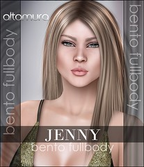*JENNY* Bento FullBody (New HUD)  LAUNCH OFFER 60% OFF @ BeYou2Ful Event (Altamura Bento Avatar) Tags: altamura avatar applier altagroup altamurathefutureoffashion bento body bentoavatar beauty bentohead bentomeshhead altamuragroup altamurabentoavatar jenny fullbody bodies omegasystem