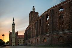 Gubin (franzmarkus) Tags: gubin polen polska gotik ruine sonnenuntergang architektur nikon d600 fx nikkor 2485mm