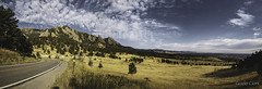 Near Boulder, Colorado (Guido Cioni) Tags: country road landscape scenery mountain scenic hill range spring mountains fog boulevard lane colorado boulder usa rocky