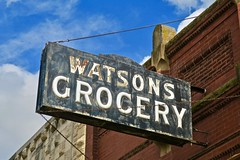 Watson's Grocery, State Center, IA (Robby Virus) Tags: statecenter iowa ia watsons grocery store museum nrhp national register historic places sign signage