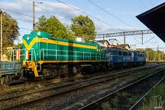SM48-043 (PM's photography) Tags: sm48 sm48043 pkp cargo czerwiensk diesel train freight trainspotting rail railway railroad