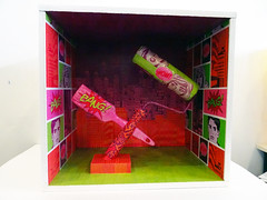 #GrandPublic/ Atelier art du collage/ Sylvie Caty (esamCaenCherbourg) Tags: grandpubliccaen atelieradultes 20172018 sylviecaty collage papier esamscdessinartplastique