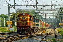 HYB - JP Exp. (B V Ashok) Tags: hyderabadjaipur hybjp express 17020 scr weekly cvb cavalrybarracks kzj kazipet wdg3a 14924 lhb alco