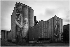 Kantola, Hämeenlinna Finland (mvnfotos) Tags: 52weeks2018 blackwhite guidovanhelten hämeenlinna mural