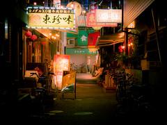 PA041323-Ver2 (T_AZ) Tags: olympus em1 yokohama japan chinatown bicycle atmosphere neon people sign streetphotography city shop road