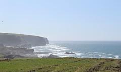 More cliff shots (debstromquist) Tags: cliffs atlanticocean countyclare ireland wildatlanticway spring birds oceanspray spray