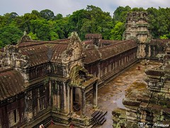 180726-120 Du haut d'Angkor (clamato39) Tags: angkor angkorwat cambodge cambodia asia asie voyage trip ciel sky jungle temple religieux religion historique historic history ancient ancestrale old