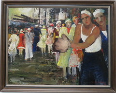 20170722 Lettonie Riga - Musée National des Beaux-Arts -165 (anhndee) Tags: etatsbaltes lettonie riga musée museum museo musee peinture peintre painting painter