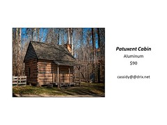 "Patuxent Cabin • <a style=""font-size:0.8em;"" href=""https://www.flickr.com/photos/124378531@N04/45312921512/"" target=""_blank"">View on Flickr</a>"