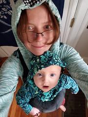 Quinn and Eliza (quinn.anya) Tags: quinn eliza baby carrier tentacles jessihoodie