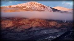 Cloud in the front row (Jasper, Canada) (armxesde) Tags: pentax ricoh k3 canada kanada jasper jaspernationalpark rockymountains alberta sunset sonnenuntergang wolke cloud red rot