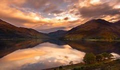 Morning reflection (Phil-Gregory) Tags: nikon d7200 tokina1120mmatx tokina wideangle ultrawide reflection scotland fivesistersofkintail loch highlands scenicsnotjustlandscapes landscapes naturalphotography naturephotography colours clouds
