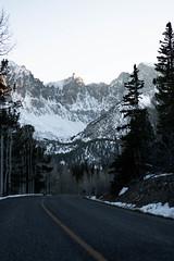 Wheeler Peak (Yildunstar) Tags: greatbasin nevada landscape snow alpine backpacking wheelerpeak sunset