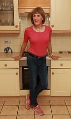 201018b 7523a (Brenda Silmaril) Tags: jeans denim trainers