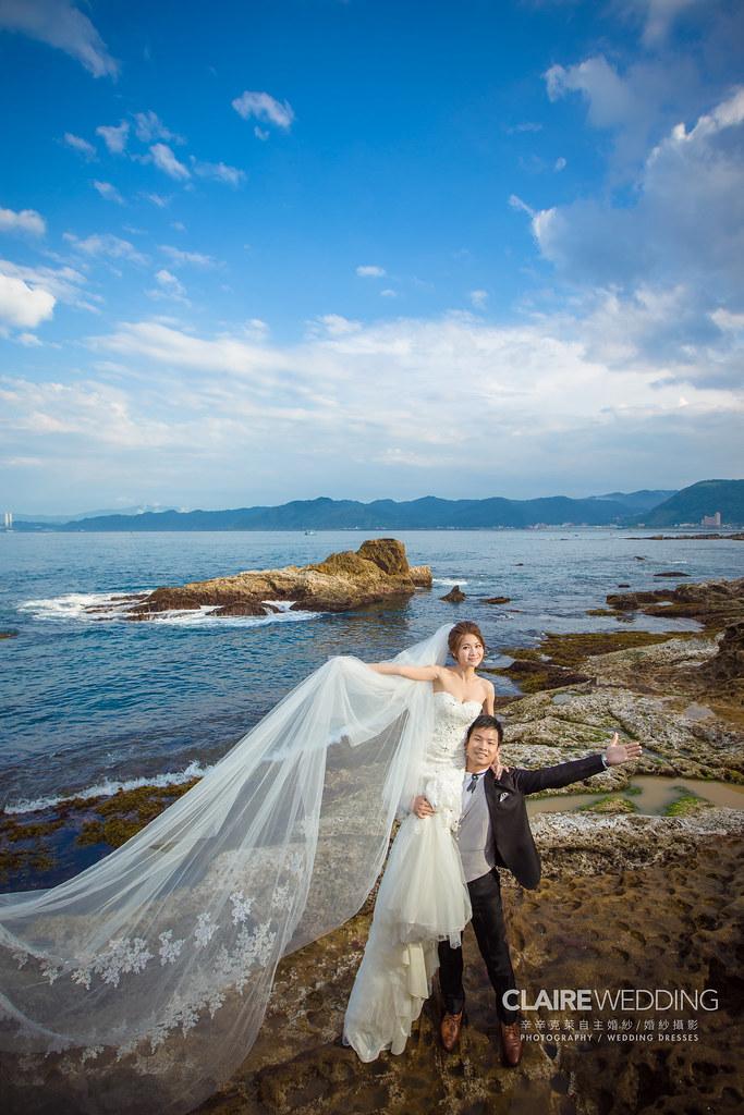 台灣婚紗旅拍,新北,野柳,海邊婚紗,海岸婚紗,婚紗攝影,婚紗相