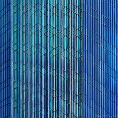 Minneapolis Geometry (David M Strom) Tags: olympusem1markii skyscraper olympus40150 minneapolis reflections architecture minimal windows davidstrom abstract idscenter