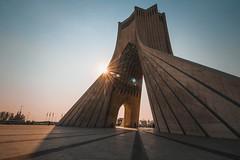 Azadi Tower (Felexa) Tags: iran irantour travel irantravel felexa traveltoiran azadi azaditower tehran