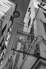 la bella citta genova liguria (michael_obst) Tags: liguria genua genova bellaitalia street building bnw monochrome samyang 35mm redfilter sky
