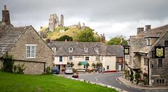Corfe Castle, Dorset (Bob Radlinski) Tags: corfecastle dorset england europe greatbritain uk travel nationaltrust