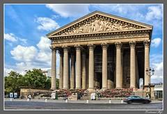 Paris_L'église de la Madeleine_8. pařížský obvod_8e Arrondissement (ferdahejl) Tags: paris léglisedelamadeleine 8pařížskýobvod 8earrondissement dslr canondslr
